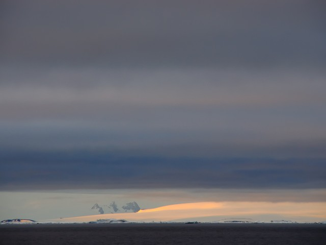 Christmas Sunset, Weddell Sea, Antarctica