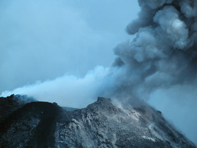 Arenal Volcano – Ash Eruption