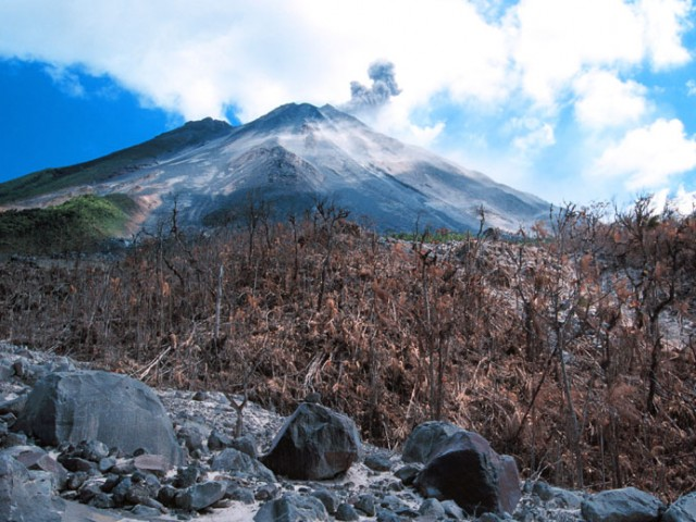 Pyroclastic Flow Field – Arenal Volcano