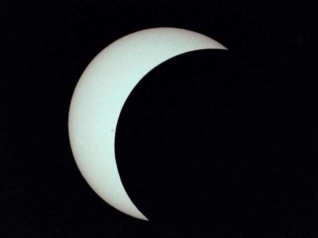 Annular Eclipse – Partial Phase