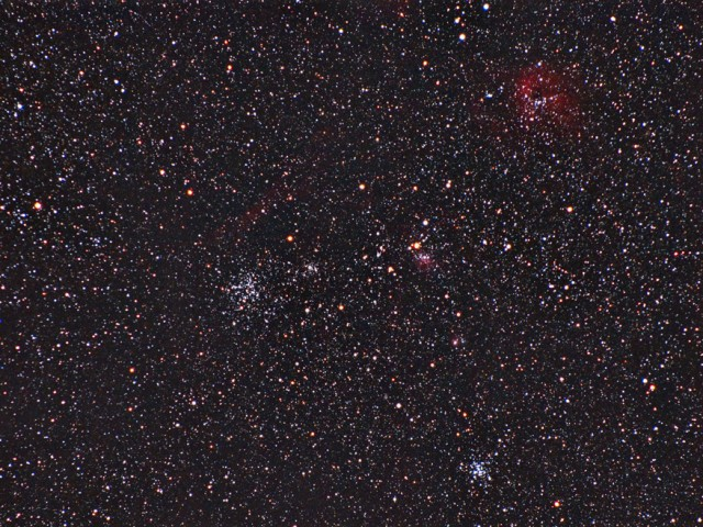 M38/M36 Region in Auriga
