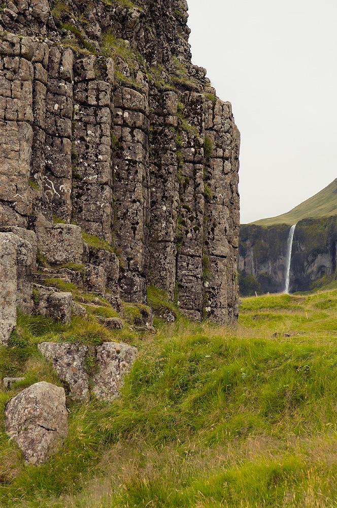 Columnar Basalt, Iceland