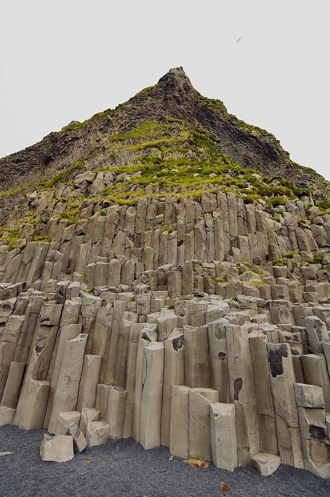 Columnar Basalt, Black Sand Beach, Vik, Iceland