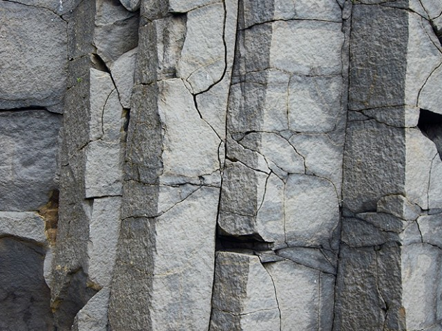 Columnar Basalt Abstract