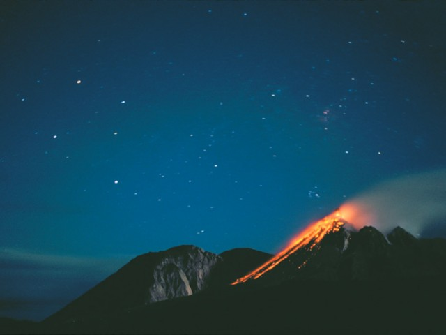 Southern Cross/Soufriere Hills Volcano