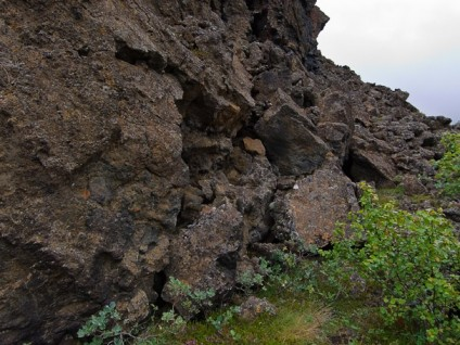 Lava Pillars and Crags