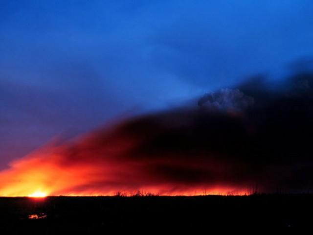 Everglades Wildfire (1)