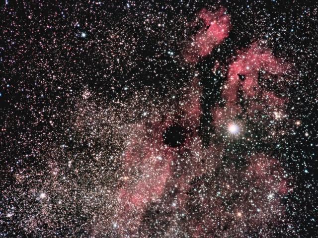 Widefield Gamma Cygni