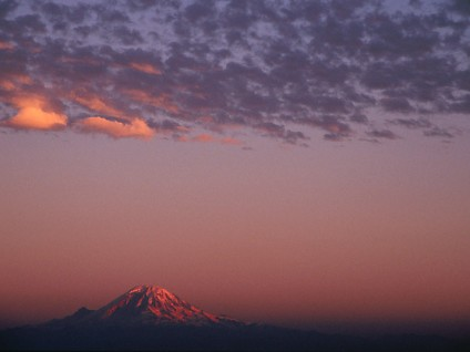 Mount Rainier – Sunset