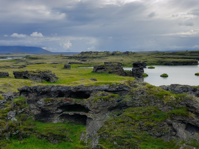 Lava Formations – Lake Myvatn