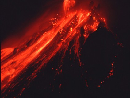 Lava Spines and Glowing Blocks – Soufriere Hills Volcano