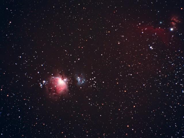 Orion Nebula/Horsehead Nebula Region