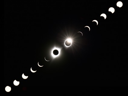 2017 Total Solar Eclipse Sequence